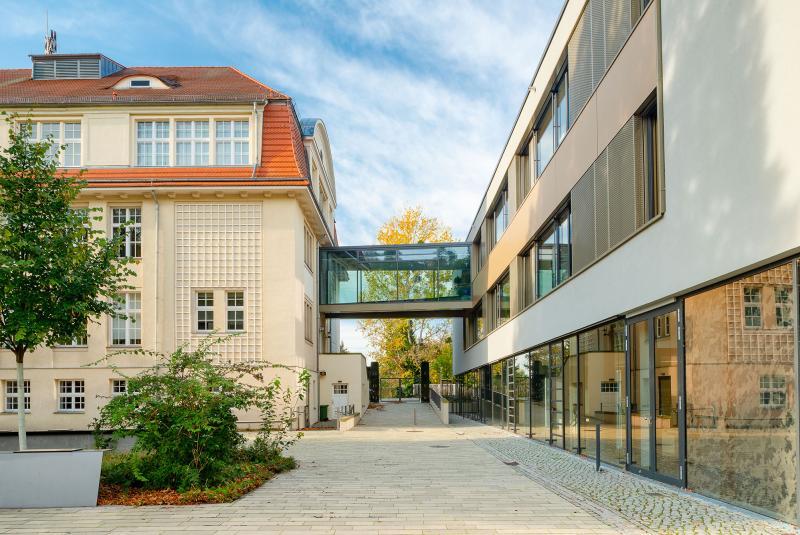 Sporthalle und Erweiterungsbau 62. Oberschule Fidelio-F.-Finke-Straße, Dresden